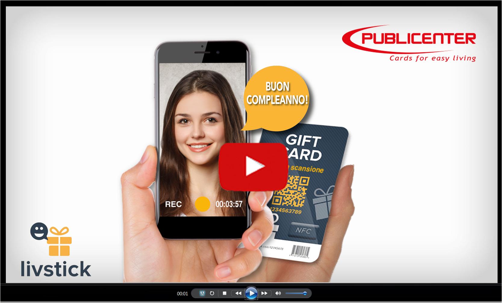 video gift card en